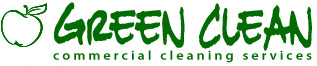 Janitorial Services Logo Green Clean CS