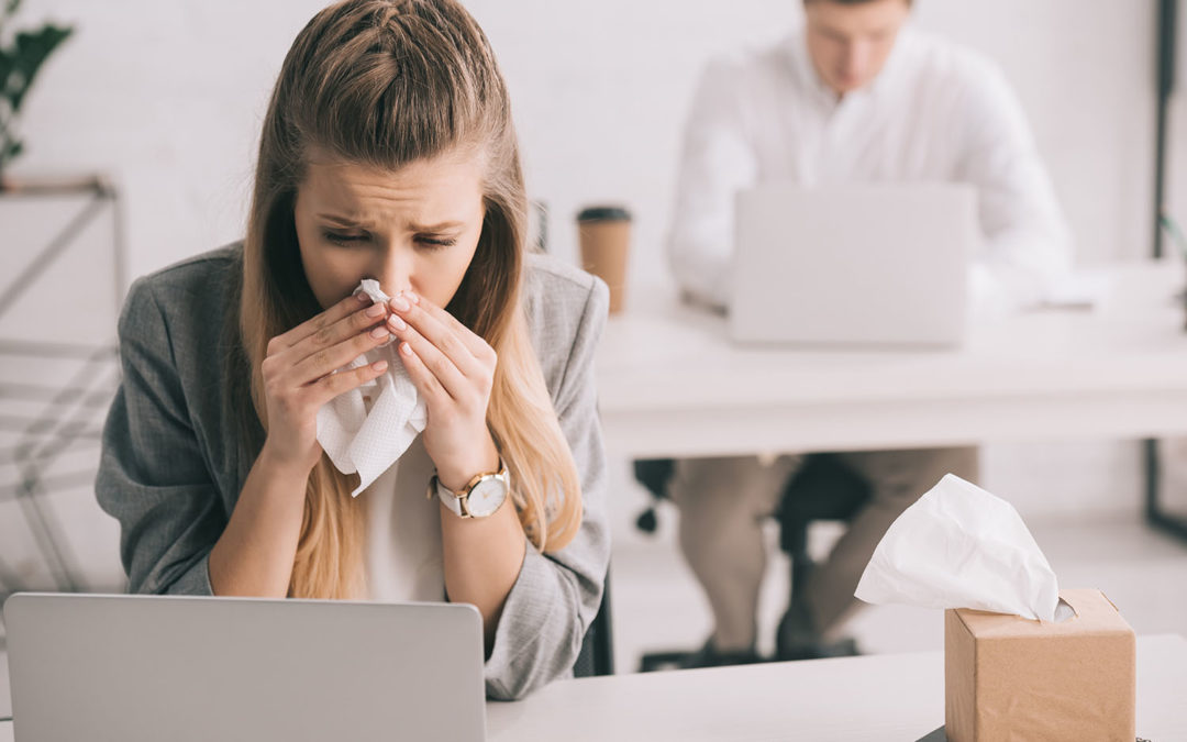 Prevent Office Cold and Flu Season with Cleaning